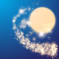 Fond abstrait étoiles vecteur
