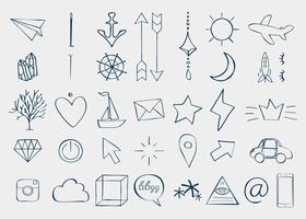 Doodles divers éléments