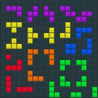 Modèle carré de jeu Tetris