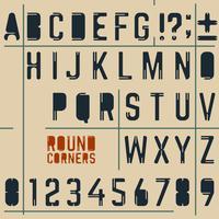 alphabet vecteur