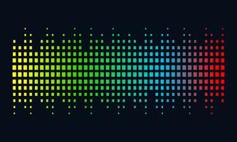 Musique Logo concept onde sonore, Technologie audio, Forme abstraite