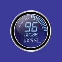 Compteur de vitesse vecteur