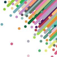 Abstrait élément coloré.