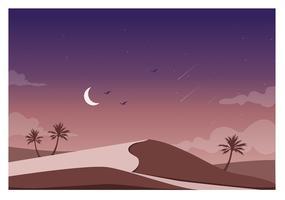 Illustration de paysage vectoriel