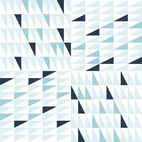 Motif triangle abstrait