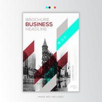 Rapport annuel Corporate Design créatif vecteur