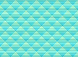 Résumé de fond bleu et vert subtile trame de vecteur. Treillis de couleurs vibrantes de style moderne. Répétez la grille géométrique.