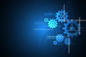 Technologie liée à l'ingénierie. vecteur
