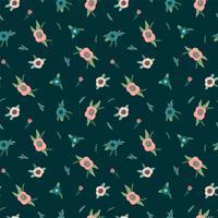 Floral pattern sans soudure. Conception de vecteur pour papier, couverture, tissu, décoration intérieure