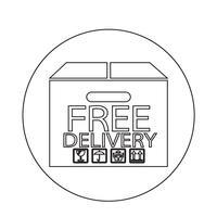 Icône de livraison gratuite