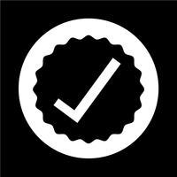 icône d'approbation