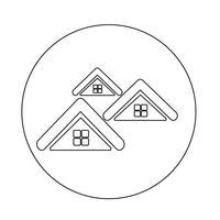 Icône de maison immobilier