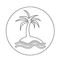 icône de l'île
