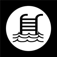 Icône de piscine