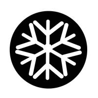 Flocon de neige icône