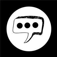 Icône de la bulle de dialogue