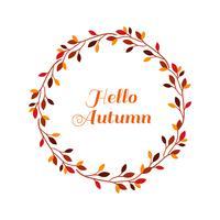 Bonjour les feuilles d'automne