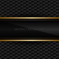 Fond abstrait noir vecteur