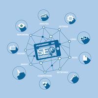 Modèle de conception de ligne pour la bannière de site Web d'analyse. Concept d'illustration vectorielle pour l'analyse du commerce, études de marché, analyse des données. vecteur