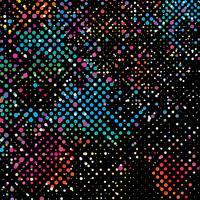 Fond de points colorés