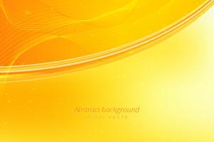 Fond de vague jaune