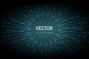 lumières sur fond de forme circulaire vecteur