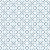 Motif abstrait de carrés bleus sur fond blanc.