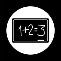 Icône de tableau noir