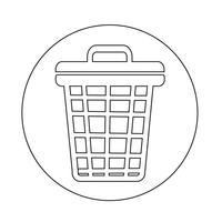 icône de corbeille