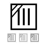 symbole d'icône de blanchisserie