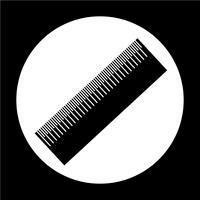 Icône de signe de règle