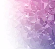 Fond de mosaïque polygonale violet, modèles de conception créative vecteur