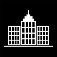 Signe de l'icône du bâtiment