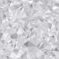 Fond de mosaïque polygonale grise, modèles de conception créative vecteur