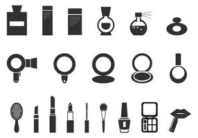 Maquillage et cosmétique pack vecteur