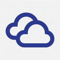 Illustration vectorielle icône météo