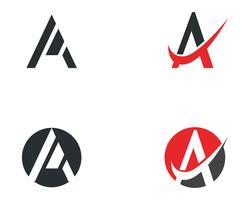 Une icône de logo lettre business template vecteur