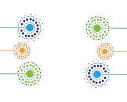 Dessins d'illustration vectorielle pissenlit