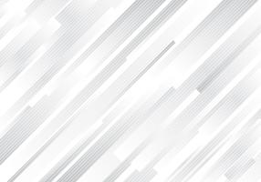 Abstrait moderne de lignes géométriques abstraites rayures diagonales blanches et grises. vecteur