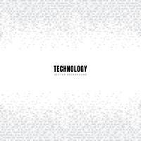 En-tête et pieds de page de modèle abstrait géométrique blanc et gris carrés de fond et texture avec espace de copie. Style de la technologie. Grille mosaïque.