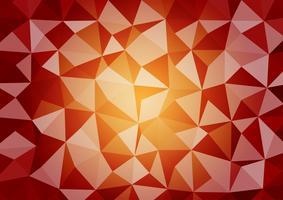 Fond de vecteur graphique multicolore géométrique style triangulaire dégradé illustration. Conception polygonale de vecteur pour votre expérience des affaires.