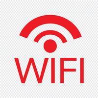Illustration vectorielle icône WIFI