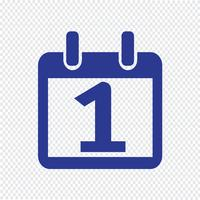 Calendrier icône illustration vectorielle
