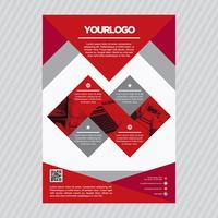 Modèle de Brochure de commerce professionnel