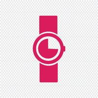 Regarder l'icône illustration vectorielle