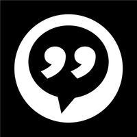 Icône de dialogue