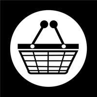 Icône Shopping vecteur