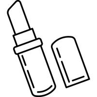 Vecteur d'icône de rouge à lèvres