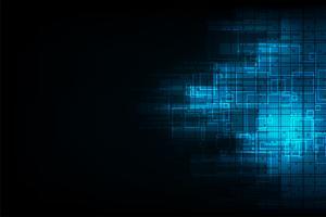 Conception numérique de technologie abstrait Vector.