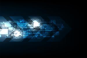 La technologie vectorielle à la prochaine étape. vecteur